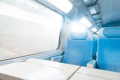 Σύγχρονο σαφές τραίνο. Στοκ Φωτογραφίες