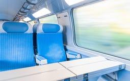 Σύγχρονο σαφές τραίνο. Στοκ Εικόνα