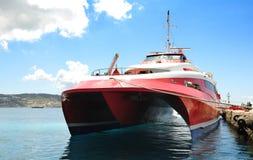 σύγχρονο σκάφος Στοκ εικόνα με δικαίωμα ελεύθερης χρήσης