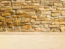 Σύγχρονο σκηνικό τοίχων πετρών Στοκ εικόνες με δικαίωμα ελεύθερης χρήσης