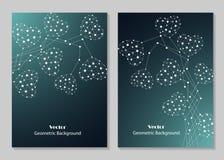 Σύγχρονο σχέδιο κάλυψης φυλλάδιων Στοκ φωτογραφίες με δικαίωμα ελεύθερης χρήσης
