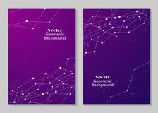Σύγχρονο σχέδιο κάλυψης φυλλάδιων Στοκ φωτογραφία με δικαίωμα ελεύθερης χρήσης
