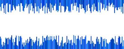 Σύγχρονο σχέδιο προτύπων υποβάθρου εμβλημάτων - οριζόντιος διανυσματικός γραφικός από τις κάθετες γραμμές ελεύθερη απεικόνιση δικαιώματος