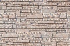 Σύγχρονο σχέδιο σχεδίων τοίχων σωρών τούβλου Στοκ φωτογραφία με δικαίωμα ελεύθερης χρήσης