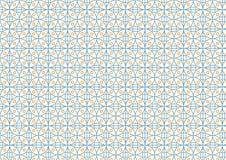 Σύγχρονο σχέδιο ορθογωνίων και κύκλων στο χρώμα κρητιδογραφιών Στοκ Εικόνα
