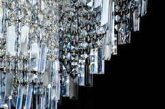 Σύγχρονο τεμάχιο πολυελαίων γυαλιού Στοκ φωτογραφία με δικαίωμα ελεύθερης χρήσης