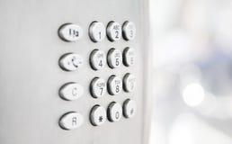 σύγχρονο τηλέφωνο αριθμη&ta Στοκ Εικόνες