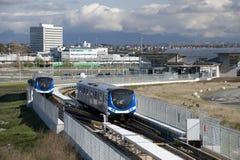 σύγχρονο τραίνο γραμμών Στοκ εικόνες με δικαίωμα ελεύθερης χρήσης