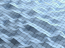 Σύγχρονο υπόβαθρο μορφών επιστήμης αφηρημένο polygonal γεωμετρικό εμείς Στοκ φωτογραφίες με δικαίωμα ελεύθερης χρήσης