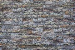 Σύγχρονο υπόβαθρο τουβλότοιχος πετρών σύσταση πετρών βράχου βρύου Στοκ Φωτογραφία