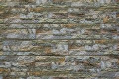 Σύγχρονο υπόβαθρο τουβλότοιχος πετρών σύσταση πετρών βράχου βρύου Στοκ Εικόνες