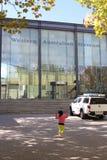Σύγχρονο δυτικό αυστραλιανό μουσείο, Περθ, Αυστραλία στοκ εικόνα με δικαίωμα ελεύθερης χρήσης