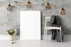 Σύγχρονο φωτεινό εσωτερικό τρισδιάστατος δώστε Στοκ φωτογραφίες με δικαίωμα ελεύθερης χρήσης