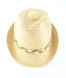 Σύγχρονο ψάθινο καπέλο αχύρου Στοκ εικόνες με δικαίωμα ελεύθερης χρήσης