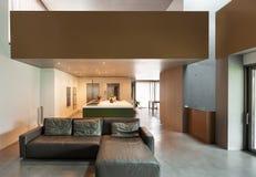 σύγχρονο δωμάτιο διαβίωσης Στοκ Φωτογραφία