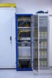 Σύγχρονο δωμάτιο κεντρικών υπολογιστών δικτύων Στοκ Εικόνες