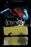 Σύγχρονο ύφος μόδας σχεδίου τέχνης αφισών  γραφικό διάνυσμα κολάζ Στοκ φωτογραφία με δικαίωμα ελεύθερης χρήσης