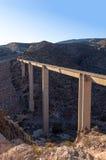 Σύγχρονο aquaduct στην Ισπανία Στοκ Φωτογραφία