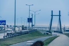 Σύγχρονο architekture, στάδιο Wroclaw, κρύα έννοια τόνου Στοκ φωτογραφία με δικαίωμα ελεύθερης χρήσης