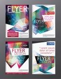 Σύγχρονο backgr φυλλάδιων ιπτάμενων ετήσια εκθέσεων προτύπων σχεδίου σχεδιαγράμματος Στοκ εικόνα με δικαίωμα ελεύθερης χρήσης