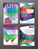 Σύγχρονο backgr φυλλάδιων ιπτάμενων ετήσια εκθέσεων προτύπων σχεδίου σχεδιαγράμματος Στοκ φωτογραφία με δικαίωμα ελεύθερης χρήσης