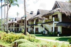 Σύγχρονο bahay kubo ως σπίτι παραλιών στοκ φωτογραφία με δικαίωμα ελεύθερης χρήσης