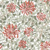 Σύγχρονο floral άνευ ραφής σχέδιο για το σχέδιό σας διανυσματική απεικόνιση