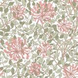 Σύγχρονο floral άνευ ραφής σχέδιο για το σχέδιό σας ελεύθερη απεικόνιση δικαιώματος