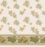 Σύγχρονο floral άνευ ραφής σχέδιο για το σχέδιό σας διάνυσμα Υπόβαθρο ελεύθερη απεικόνιση δικαιώματος