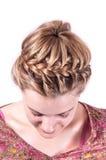 Σύγχρονο hairstyle στοκ εικόνα