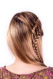 Σύγχρονο hairstyle Στοκ Φωτογραφίες
