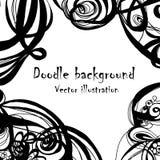 Σύγχρονο hand-drawn αναδρομικό σχέδιο κυμάτων, κυματιστό υπόβαθρο Στοκ φωτογραφία με δικαίωμα ελεύθερης χρήσης