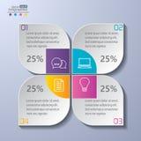 Σύγχρονο infographics απεικόνιση αποθεμάτων