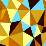 Σύγχρονο polygonal υπόβαθρο επίσης corel σύρετε το διάνυσμα απεικόνισης Απεικόνιση αποθεμάτων