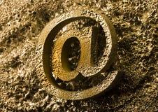 σύμβολα Διαδικτύου Στοκ Φωτογραφία