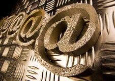 σύμβολα Διαδικτύου Στοκ φωτογραφία με δικαίωμα ελεύθερης χρήσης