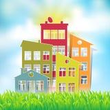 Σύμβολα σπιτιών Στοκ εικόνες με δικαίωμα ελεύθερης χρήσης