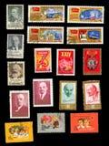 Σύμβολα της κομμουνιστικής μετακίνησης, πρωτοπόροι και συνέδρια κομμάτων στοκ εικόνα