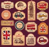 Σύμβολα του Λονδίνου Στοκ Εικόνες