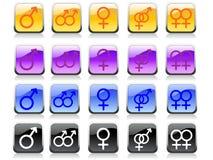 σύμβολα φύλων Στοκ Εικόνες