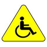 σύμβολο αναπηρίας Στοκ Φωτογραφίες