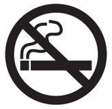 Σύμβολο απαγόρευσης του καπνίσματος Στοκ Φωτογραφία