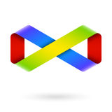 Σύμβολο απείρου Στοκ φωτογραφία με δικαίωμα ελεύθερης χρήσης