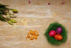 Σύμβολο αυγών Πάσχας του φέρετρου και της αναζοωγόνησης στοκ φωτογραφία με δικαίωμα ελεύθερης χρήσης
