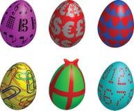 σύμβολο αυγών Πάσχας Στοκ εικόνα με δικαίωμα ελεύθερης χρήσης