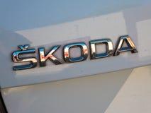 Σύμβολο αυτοκινήτων Skoda στοκ φωτογραφία