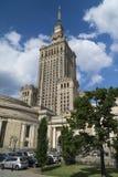 σύμβολο Βαρσοβία επιστήμης της Πολωνίας παλατιών καλλιέργειας κομμουνισμού Στοκ Εικόνα