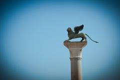 σύμβολο Βενετία λιονταριών Στοκ εικόνες με δικαίωμα ελεύθερης χρήσης
