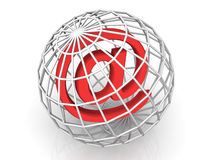 σύμβολο Διαδικτύου απεικόνιση αποθεμάτων