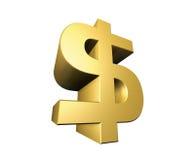 σύμβολο δολαρίων Στοκ εικόνες με δικαίωμα ελεύθερης χρήσης